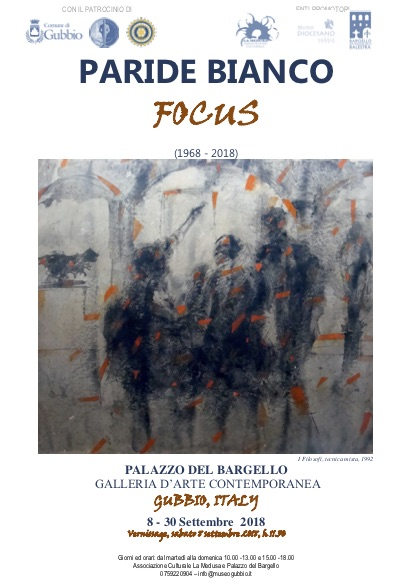 PARIDE BIANCO. Focus (1968-2018)