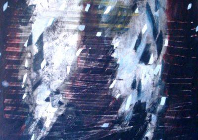 Muro di Livorno 1, olio su tela, 84x68, 20119 (Grande)